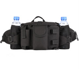 Focus Tactical 3-Way Outdoor Hydration Waist Pack - Black