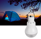Rechargeable Solar LED Camping Tent Light from Focus Tactical - In Use