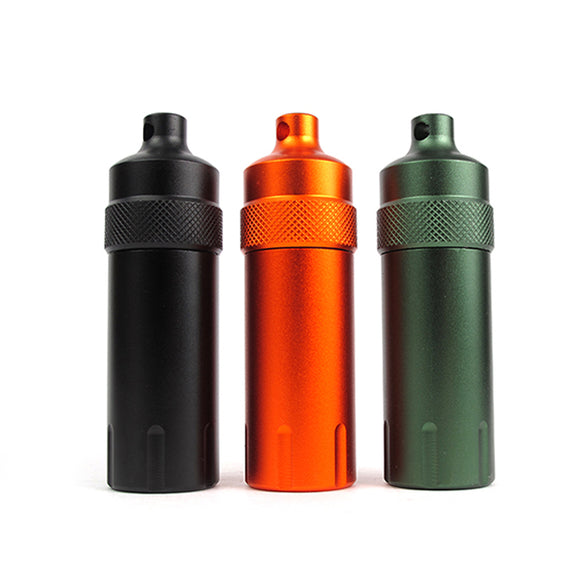 Waterproof Aluminum Capsule Container