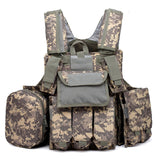 Multi-Compartment Tactical Vest from Focus Tactical - ACU