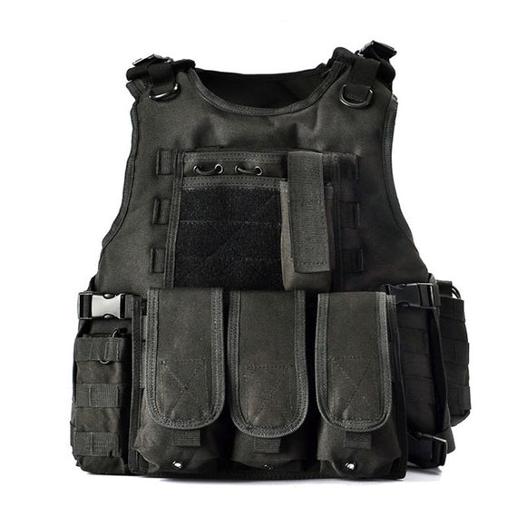Focus Tactical Bulletproof Tactical Vest - Black