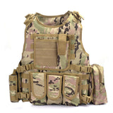 Focus Tactical Bulletproof Tactical Vest - CP