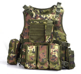 Focus Tactical Bulletproof Tactical Vest - Italy Camo