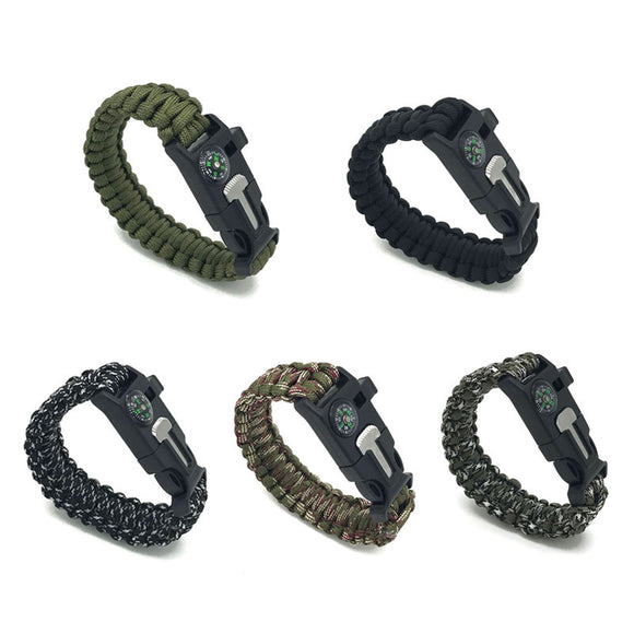 Focus Tactical Paracord Survival Bracelet