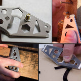 Pocket Size Multifunction EDC Tool from Focus Tactical - Features