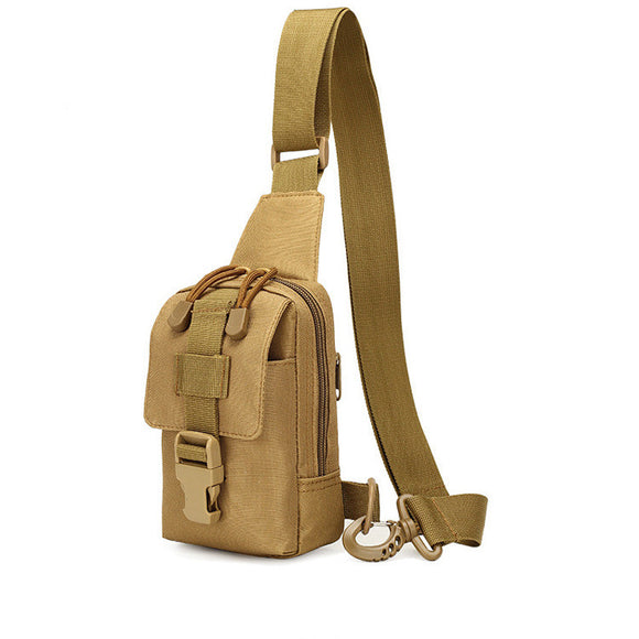 Focus Tactical Crossbody Multifunction Bag - Tan