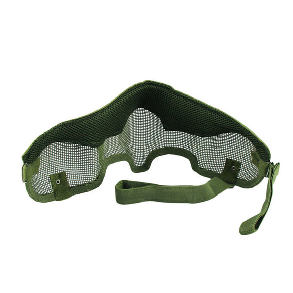 Half Face Steel Mesh Military Mask from Focus Tactical