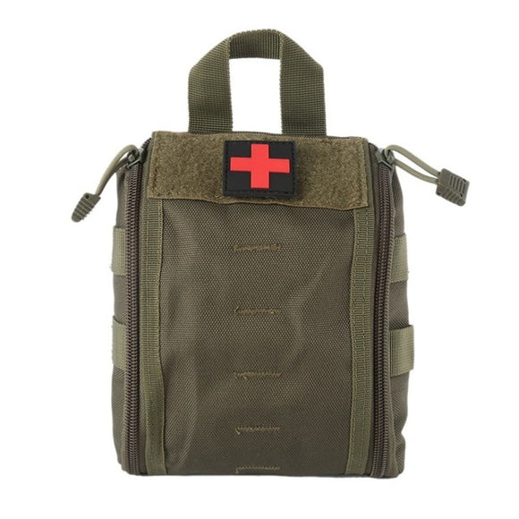 Focus Tactical Molle Survival Medical Kit Pouch - Army Green