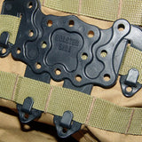 Firearm MOLLE Holster Platform Adapter from Focus Tactical - Molle Attached