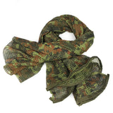 Tactical Mesh Cotton Neck Scarf - A
