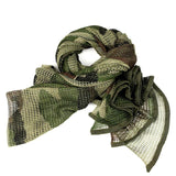 Tactical Mesh Cotton Neck Scarf - B