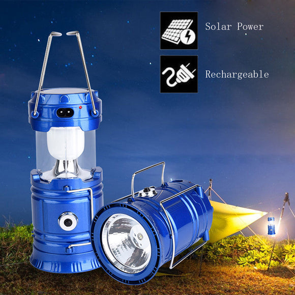 Focus Tactical LED Portable Solar Lantern