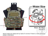 IDoutDoor Molle Hunting Airsoft Padded Vest from Focus Tactical - Sizing