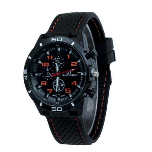 Quartz Sport Silicone Wristwatch from Focus Tactical
