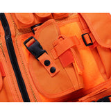 Men's Bright Orange Tactical Vest - Holster