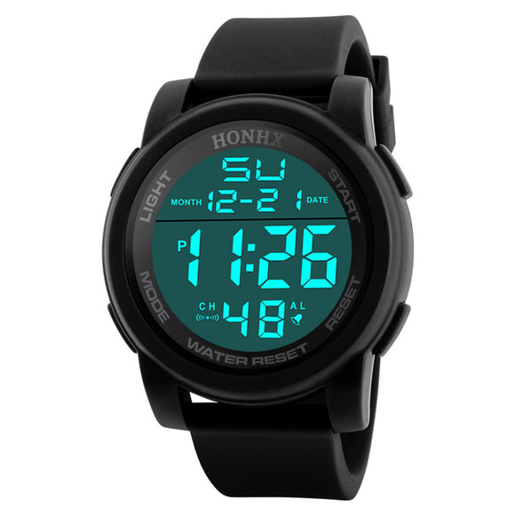 Focus Tactical Digital Sport LED Watch - Black