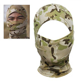 Camouflage Full Face Mask Helmet Liner from Focus Tactical - Desert Camo