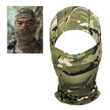 Camouflage Full Face Mask Helmet Liner from Focus Tactical - All Terrain Camo