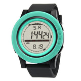 Men's Sport Water Resistant Wristwatch from Focus Tactical - Green