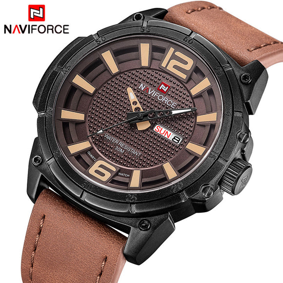 NAVIFORCE Luxury Quartz Military Watch for Men from Focus Tactical