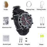 16-in-1 Multifunctional Paracord Survival Watch - Addt'l Tools