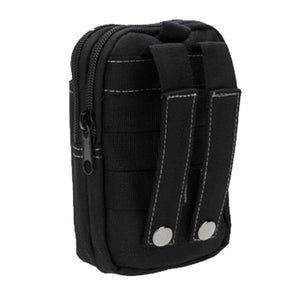 Waterproof Multi-Pocket Waist Pack - Black