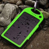 Smartphone Clip-On Solar Charger - Water Resistant