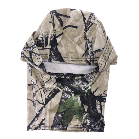 Quick-dry Camouflage Balaclava - Front View