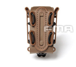 Soft Shell Pistol Magazine Holder - Green