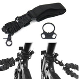 Ambidextrous Single Point Sling for 2AR Rifle w/ Dual Plate Mount Adapter from Focus Tactical