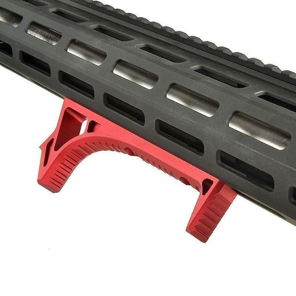 Focus Tactical Curved Angled Aluminum Foregrip