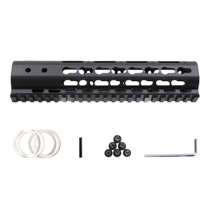 "Focus Tactical 9"" UltraLight Keymod Handguard Package"