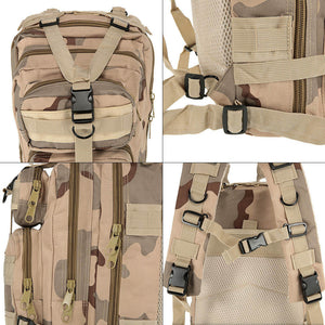 Multi-Compartment MOLLE Rucksack from Focus Tactical - 2