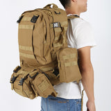 Focus Tactical 55L Molle Combination Backpack - In Use