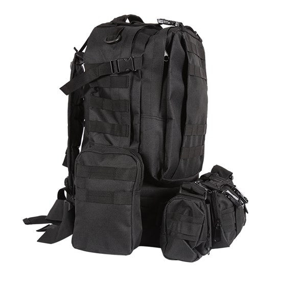 Focus Tactical 55L Molle Combination Backpack - Black