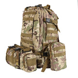 Focus Tactical 55L Molle Combination Backpack - CP