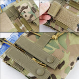Tactical MOLLE Triple Open-Top Magazine Pouch - Material