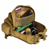 Small Tactical Molle Waterproof Rucksack from Focus Tactical - Interior