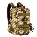 Small Tactical Molle Waterproof Rucksack from Focus Tactical - SM Camo