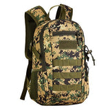 Focus Tactical 12L Mini MOLLE Daypack - Jungle Digital