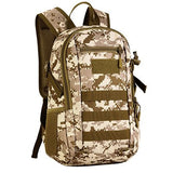 Focus Tactical 12L Mini MOLLE Daypack - Desert Digital