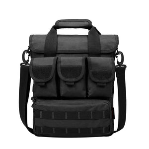 Casual Tactical Crossbody Shoulder Bag from Focus Tactical - Black