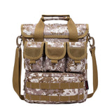 Casual Tactical Crossbody Shoulder Bag from Focus Tactical - Desert Camo