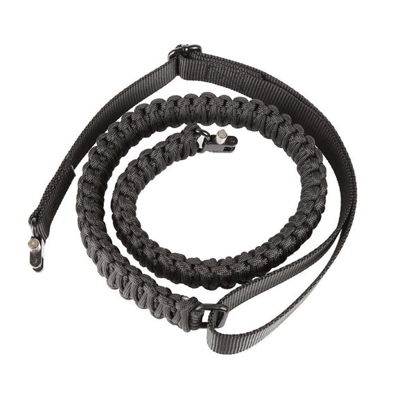 Adjustable Paracord Firearm Sling Strap from Focus Tactical - B