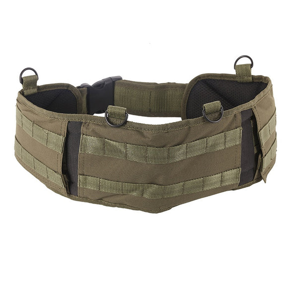Multifunction Molle Padded Waist Belt from Focus Tactical - AG