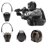 Focus Tactical Foldable Noise Canceling Ear Muffs