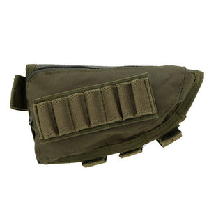 Focus Tactical Hunting Ammo Holder with Leather Pad
