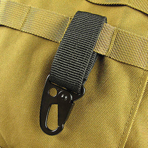 Nylon Webbing Carabineer Key Hook from Focus Tactical
