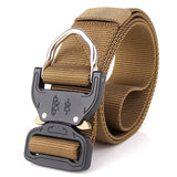 Mens Heavy Duty MOLLE Belt - Brown