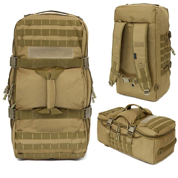 Focus Tactical 60L Molle Travel Duffle Backpack